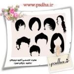 دانلود براش مو برای استفاده در فتوشاپ