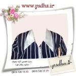 پی اس دی لباس زنانه برای مونتاژ