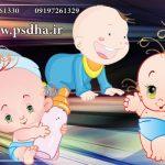 وکتور کارتونی کودک | نوزاد