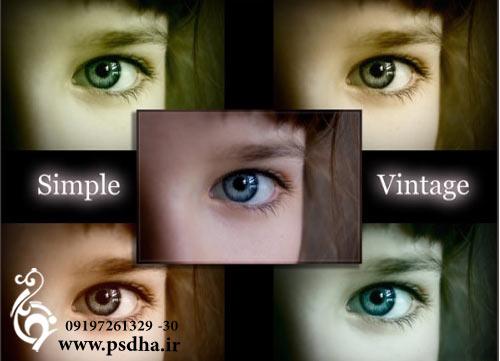 دانلود اکشن فتوشاپ تنظیمات رنگی عکس