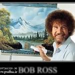 بک گراند نقاشی باب راس