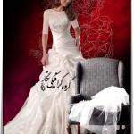 بک گراند مینیاتوری عکس عروس 1044