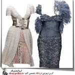 طرح لایه باز لباس مجلسی 1338
