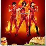 طرح لایه باز بنر تبلیغاتی همبرگر