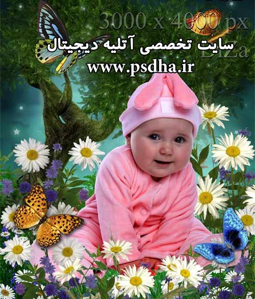 دانلود پی اس دی عکس کودک