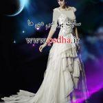 بک گراند لایه باز برای عکس آتلیه ای عروس