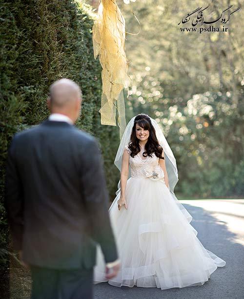 ژست عروس داماد