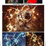 دانلود اکشن فتوشاپ ایجاد افکت رعد و قدرت بر روی عکس