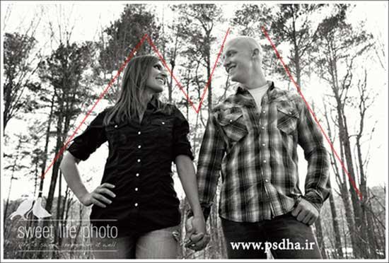 آموزش ژست عکاسی عاشقانه