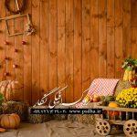 بک گراند دکور آتلیه پاییز برای طراحی عکس های آتلیه ای