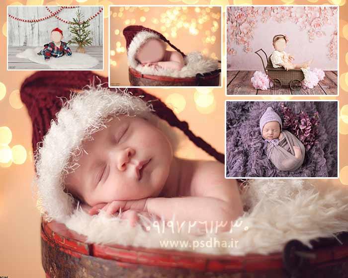 عکس های نوزاد برای مونتاژ صورت نوزاد