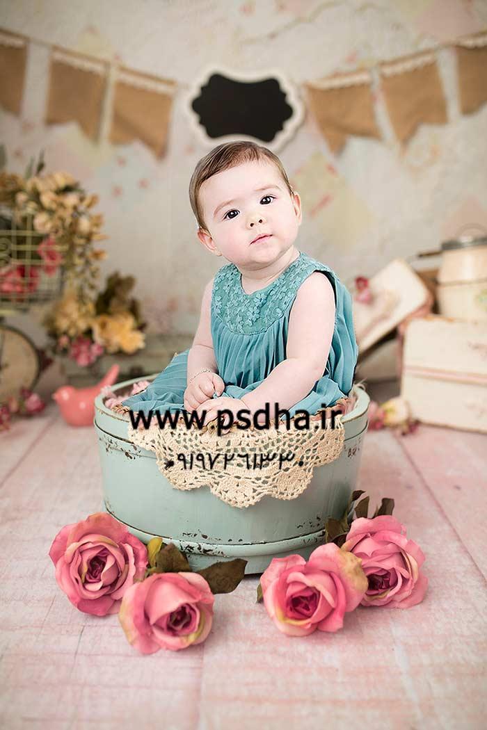 دانلود بک دراپ برای عکس نوزاد و کودک