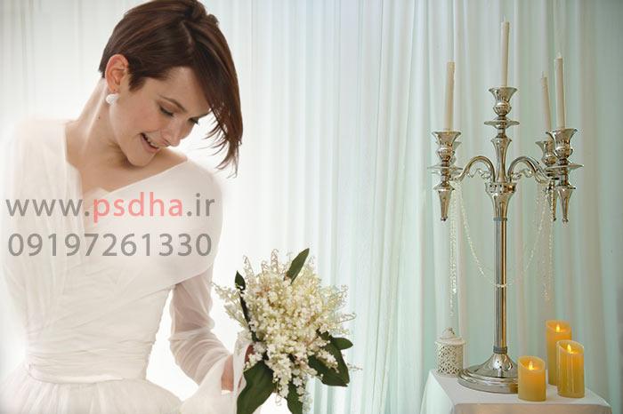 دانلود بک گراند آتلیه ای عکس عروس داماد