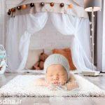 دانلود بک دراپ نوزاد و کودک با پولیش و زیر انداز کد 3702