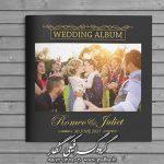دانلود آلبوم برای چینش عکس عروس و داماد کد 3725
