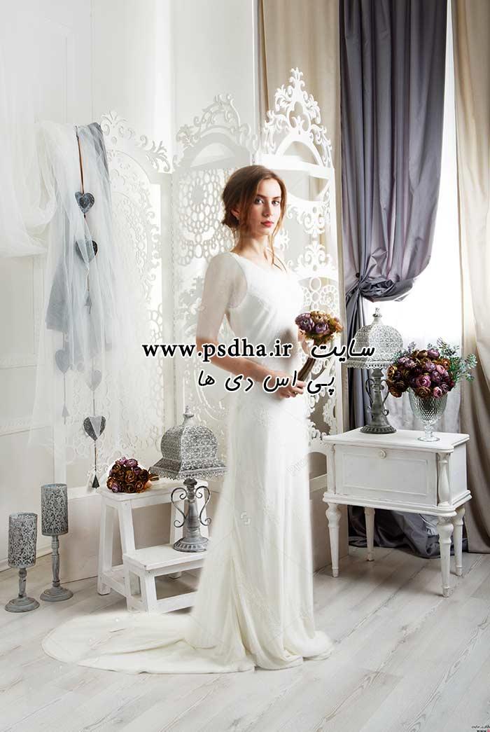 دانلود بک گراند عکاسی طراحی عکس عروس