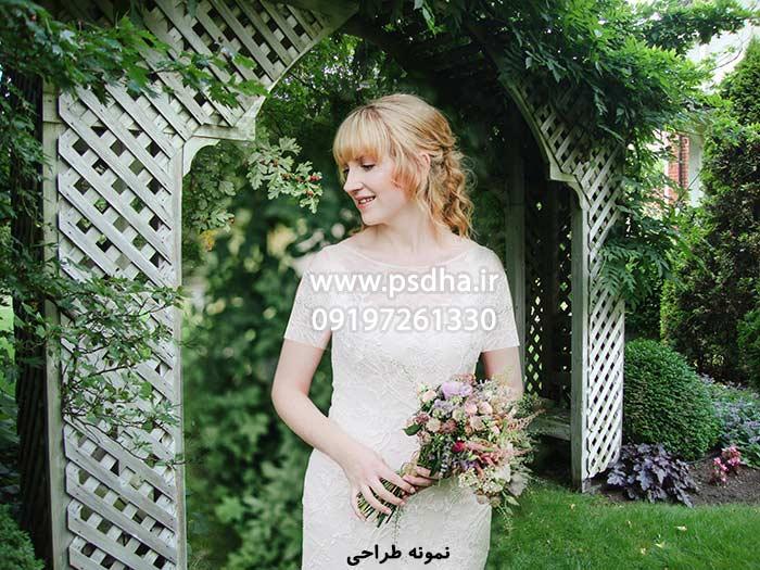دانلود بک گراند باغ عروس و داماد