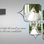 دانلود آلبوم دیجیتال ژورنال برای چینش عکس عروس کد 3795