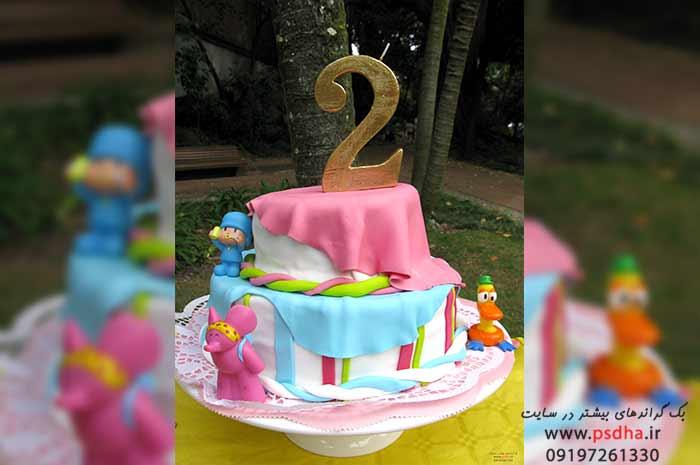 دانلود رایگان بک گراند کیک تولد دوسالگی