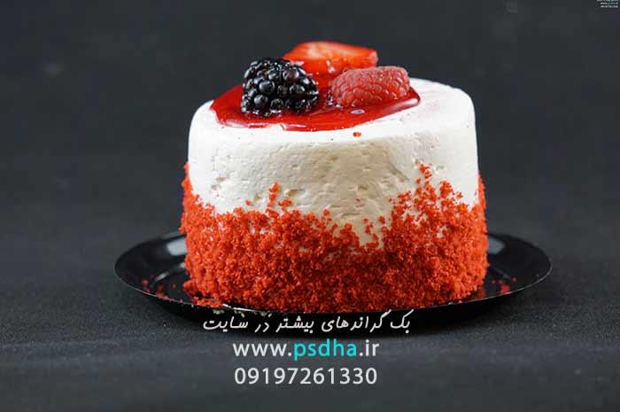 دانلود بک گراند تولد ، کیک تولد