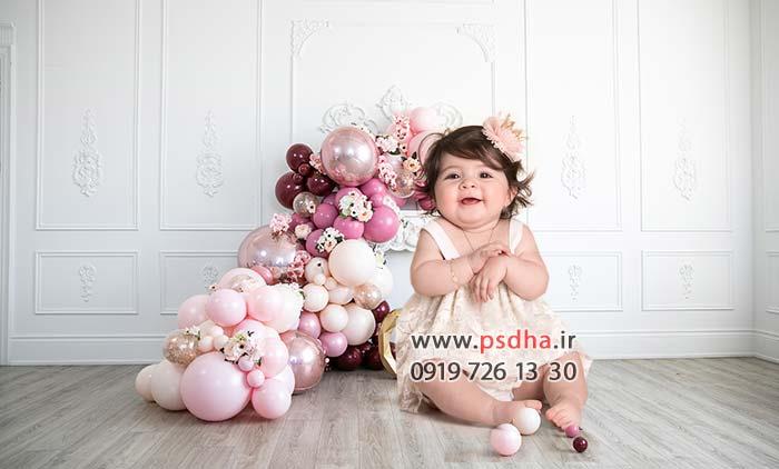 دانلود بک گراند تک لایه کودک و تولد