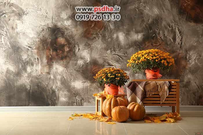 بک گراند پاییز و هالوین جدید برای طراحی
