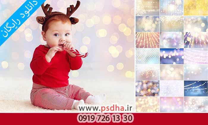 دانلود رایگان بک گراند بوکه و کریسمس با کیفیت بالا