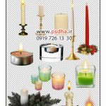 دانلود شمع دوربر شده برای طراحی عکس کد 3565
