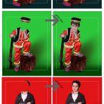 لباس سنتی محلی پسرانه لایه باز کد 3939