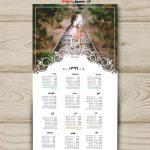 دانلود تقویم شمسی لایه باز 99 برای طراحی عروس کد 3957