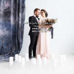 دانلود بک گراند عمارت عروس با دکور پرده کد 3992