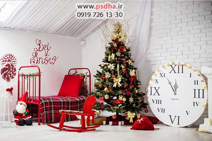 بک گراند زمستان و کریسمس