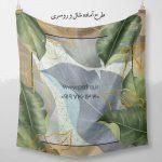 طرح روسری برای چاپ روی انواع پارچه