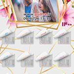 دانلود تقویم عروس و اسپرت 1400 بصورت پی اس دی کد4074