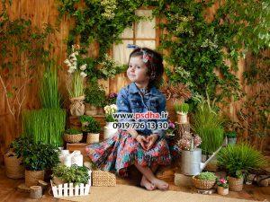 بک گراند باغ و بهار برای نوروز